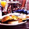 seaside ristorante 嘉手納基地 レストラン ハンバーガー