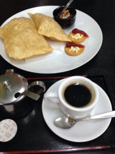 コーヒーとグアバのようかん?