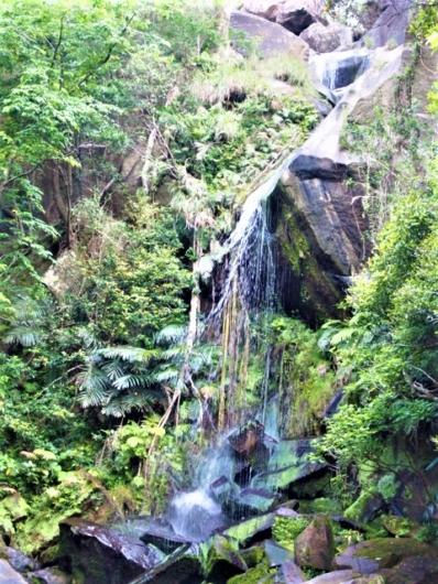 名護市数久田 轟の滝