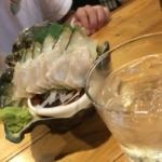 夜光貝の刺身 島の居酒屋むちゃかな 奄美大島