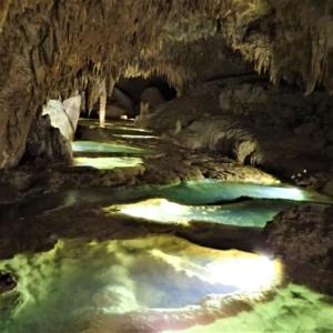 大山水鏡洞 沖永良部島caving