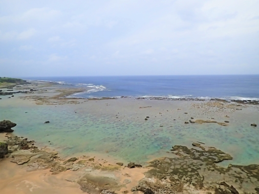 笠石海浜公園 沖永良部島