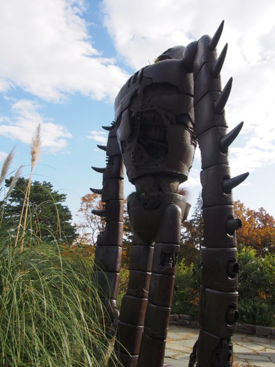 巨大なロボット兵 風の谷のナウシカ ジブリ美術館  三鷹