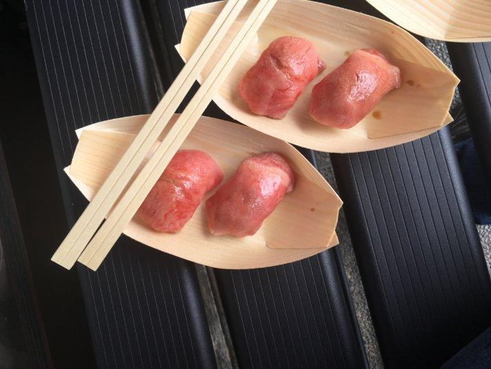 飛騨高山 飛騨牛の握り寿司