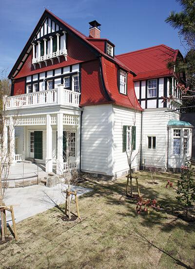 デ・ラランデ邸 メイとサツキの家 武蔵野茶房 江戸東京たてもの園