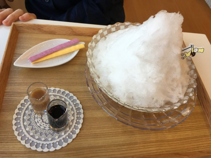 マールブランシュ malebranche 天然氷 白い山 モンブランかき氷