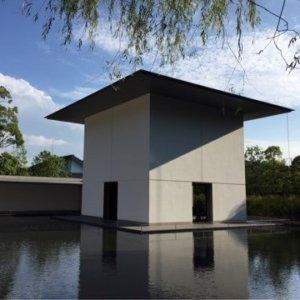 鈴木大拙館 水鏡の庭