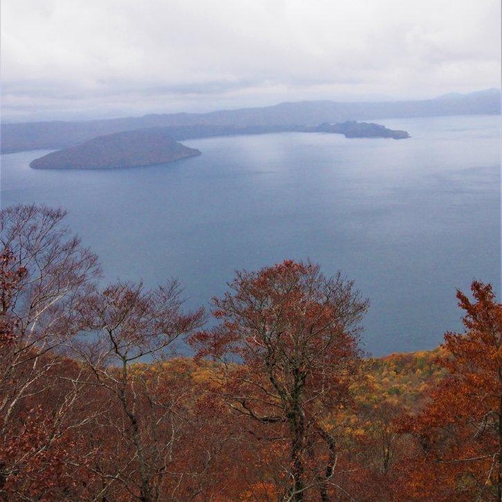 御鼻部山展望台 十和田湖