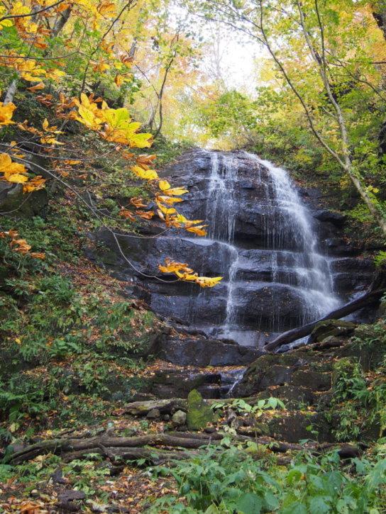 九段の滝 奥入瀬渓流 板状摂理