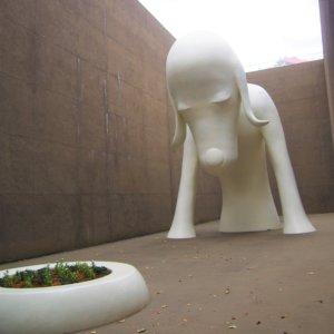 青森県立美術館 あおもり犬