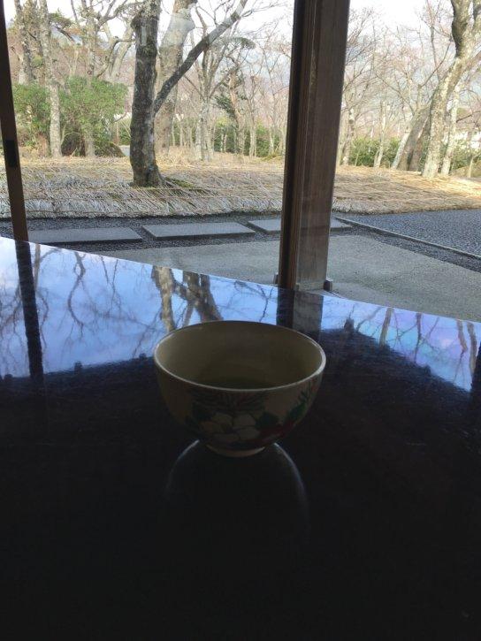 箱根美術館 茶室 真和亭