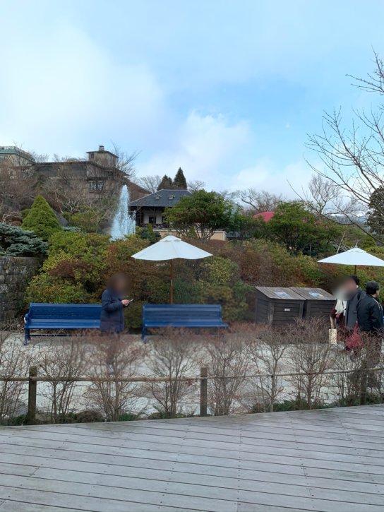 強羅公園 箱根 一色堂茶廊