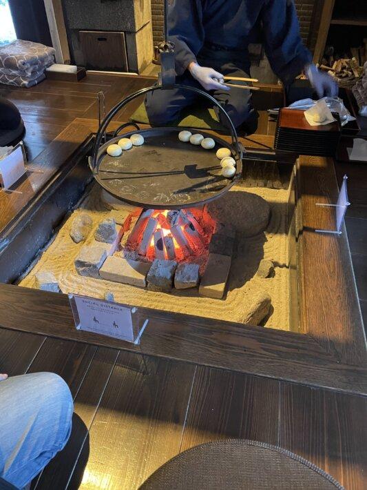 星野リゾート 界アルプス 囲炉裏